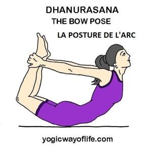 Dhanurasana - la posture de l'arc pour RENFORCER le système IMMUNITAIRE